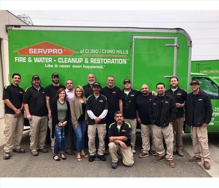 Water Damage Top 5 Reasons to Choose SERVPRO of Chino/Chino Hills When You Have Water Damage